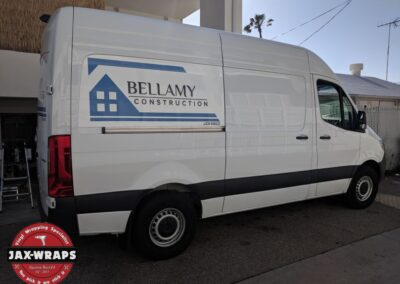 Bellamy Construction Van