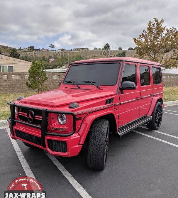 Mercedes G65 Glossy Red