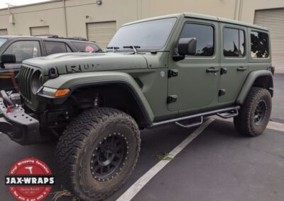 Jeep Rubicon Matte Green