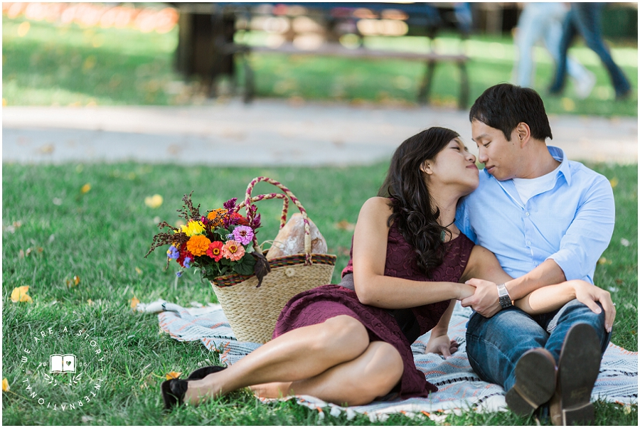 David & Diana's Farmers' Market Engagement Session