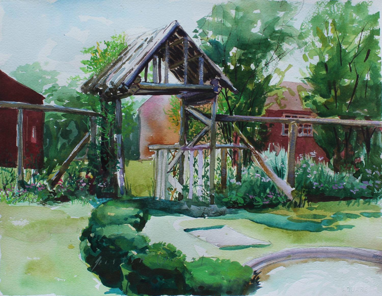 Hidden Garden at Weir Farm
