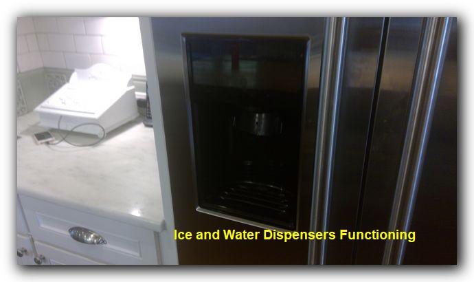 home inspection fridge