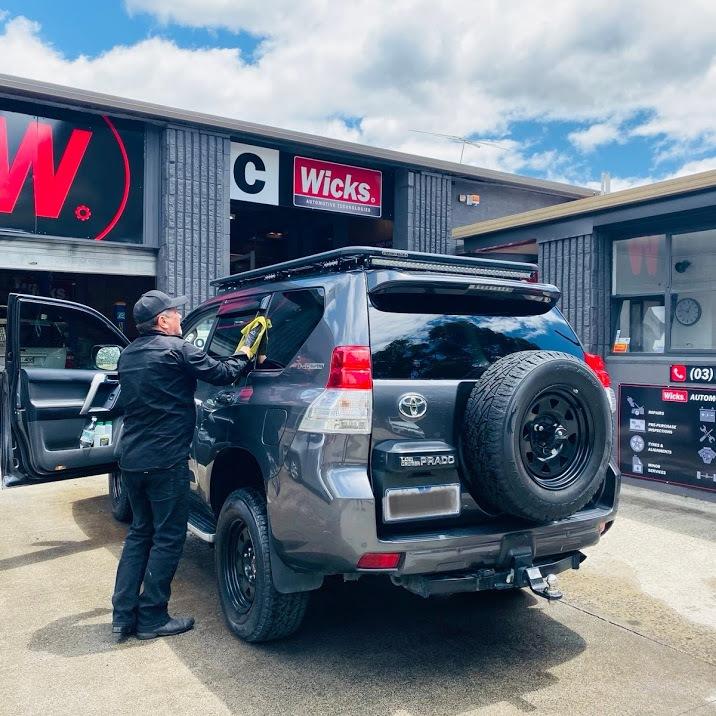 car wash benefits at wicks auto tech