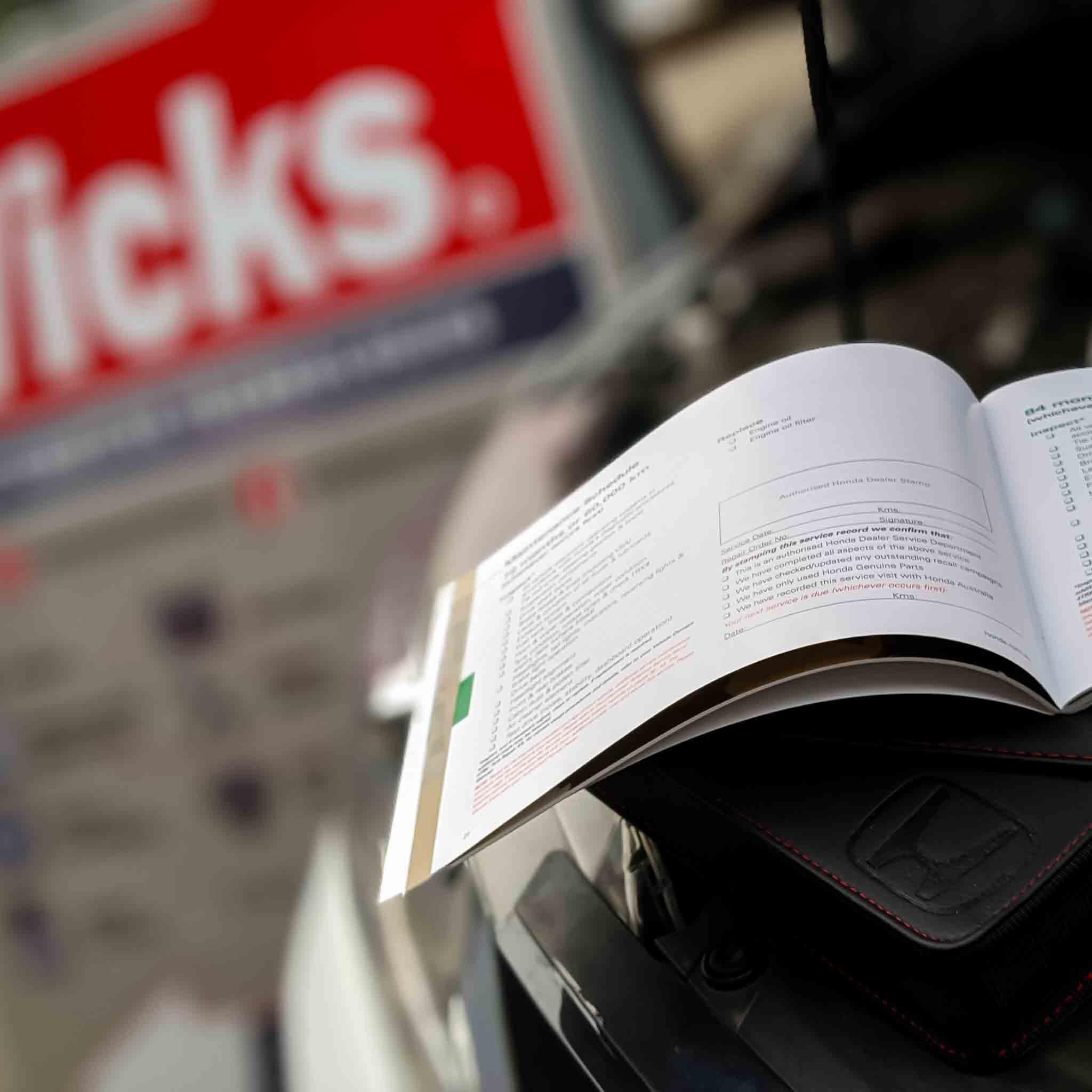 logbook servicing at wicks auto tech