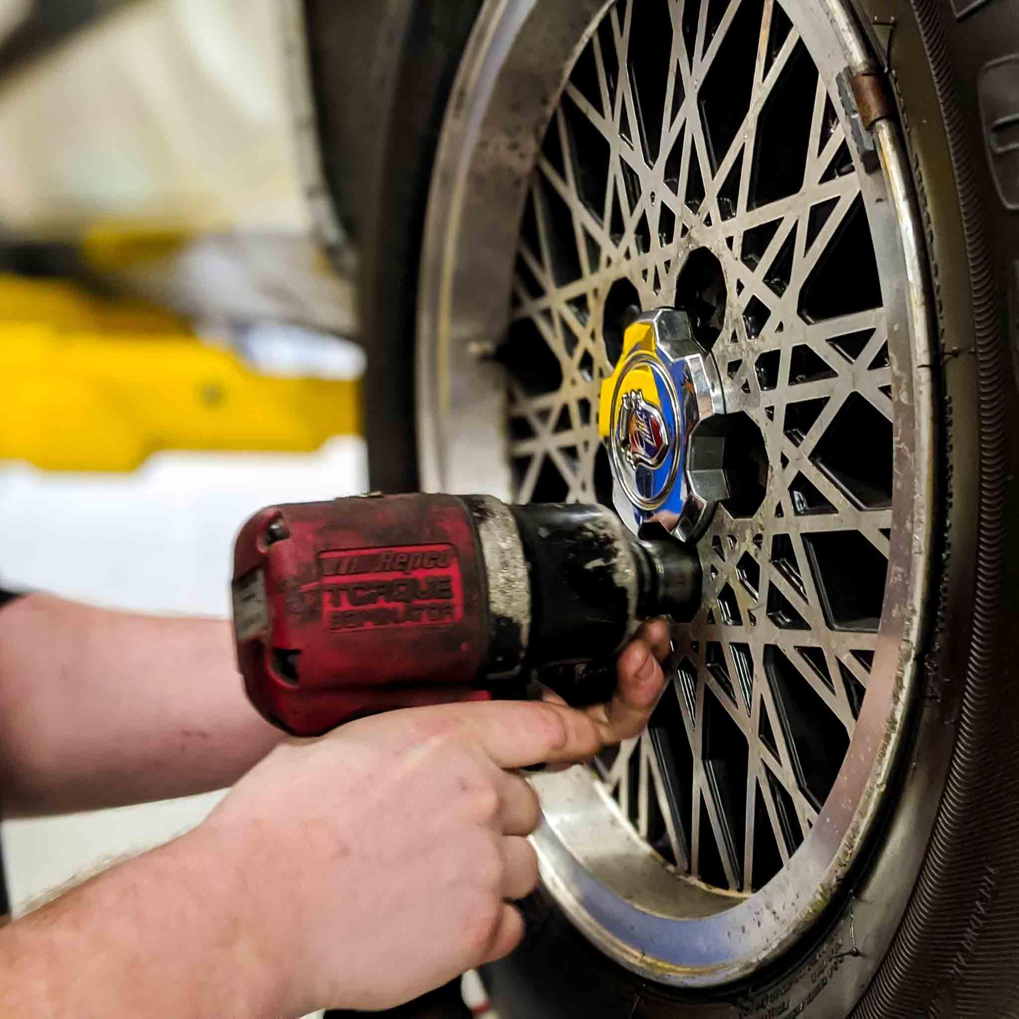 wheel alignment at wicks auto tech car service