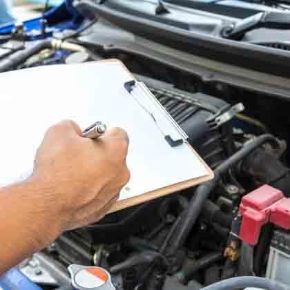 log book servicing at wicks auto tech