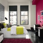Fun Bright Pink in a Bedroom