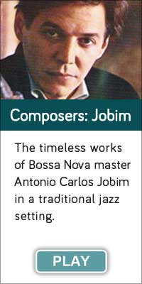 'Composers Jobim' is one of 13 streaming music channels at Connectbrazil.com