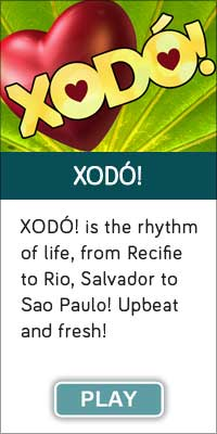 "'XODO!"" is one of 13 streaming music channels at Connectbrazil.com"