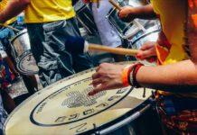 Samba drums Rio de Janeiro Brazil