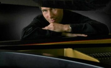 pianist Gregg Karukas with his first solo piano album Serenata