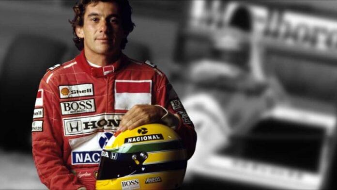 Brazilian racer Ayrton Seena