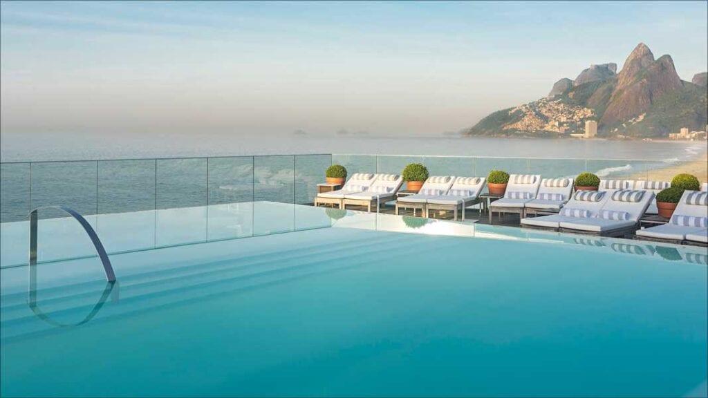 pool view Fasano Hotel Rio de Janeiro