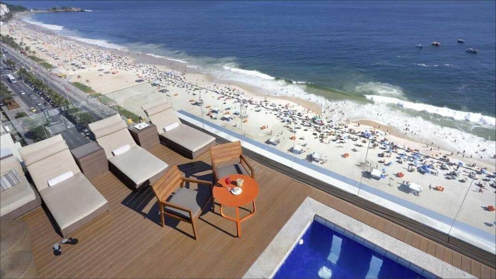 pool view of Sol Ipanema Hotel Ipanema