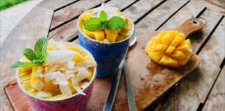 Brazilian Coconut Mango Bowl recipe