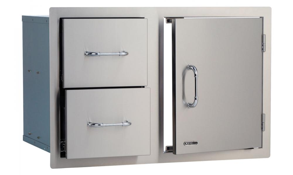 30Door-Drawer Combo