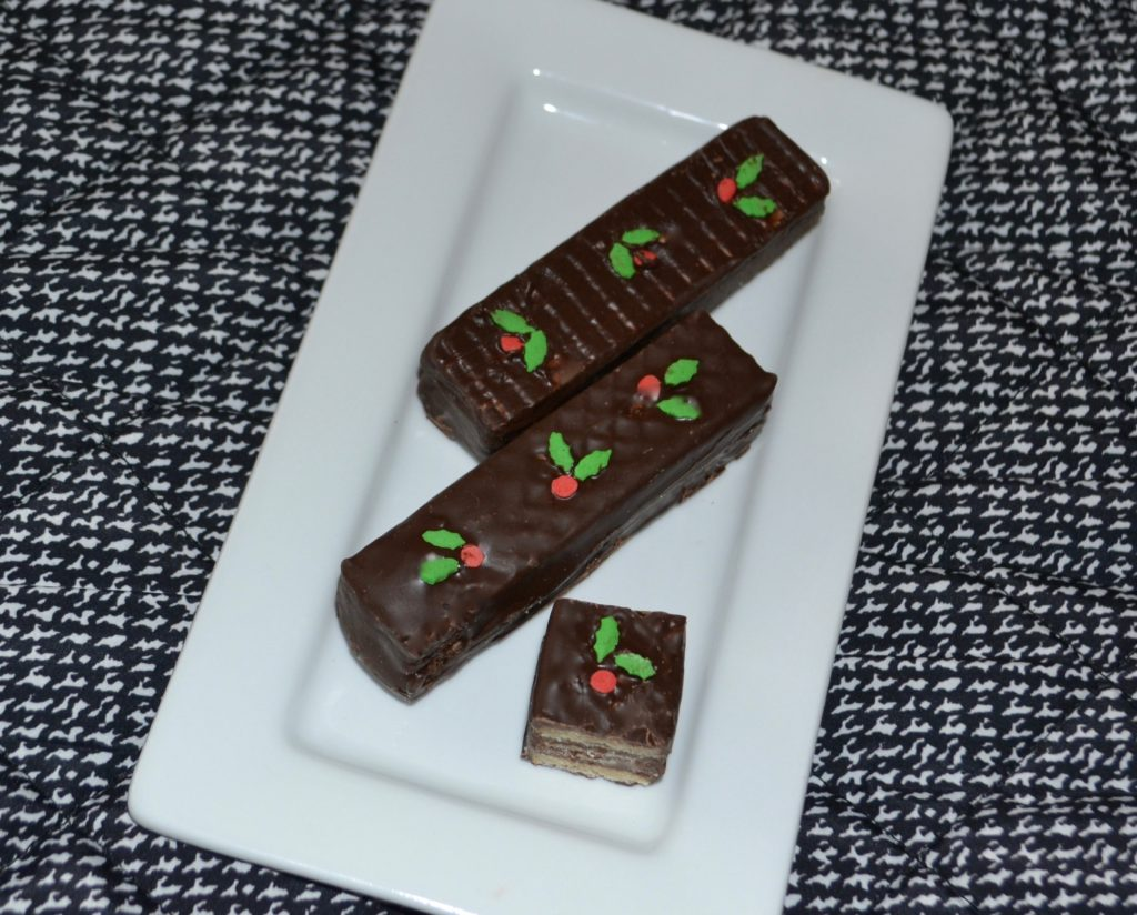 Chocolate Wafer Cookies-lizbushong.com