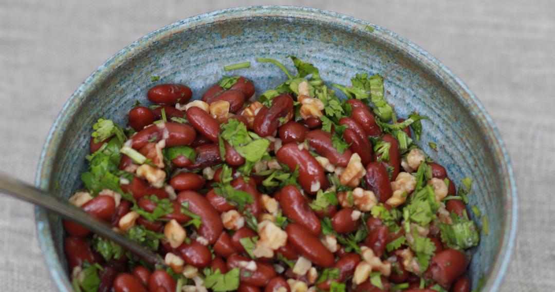 lobio bean salad