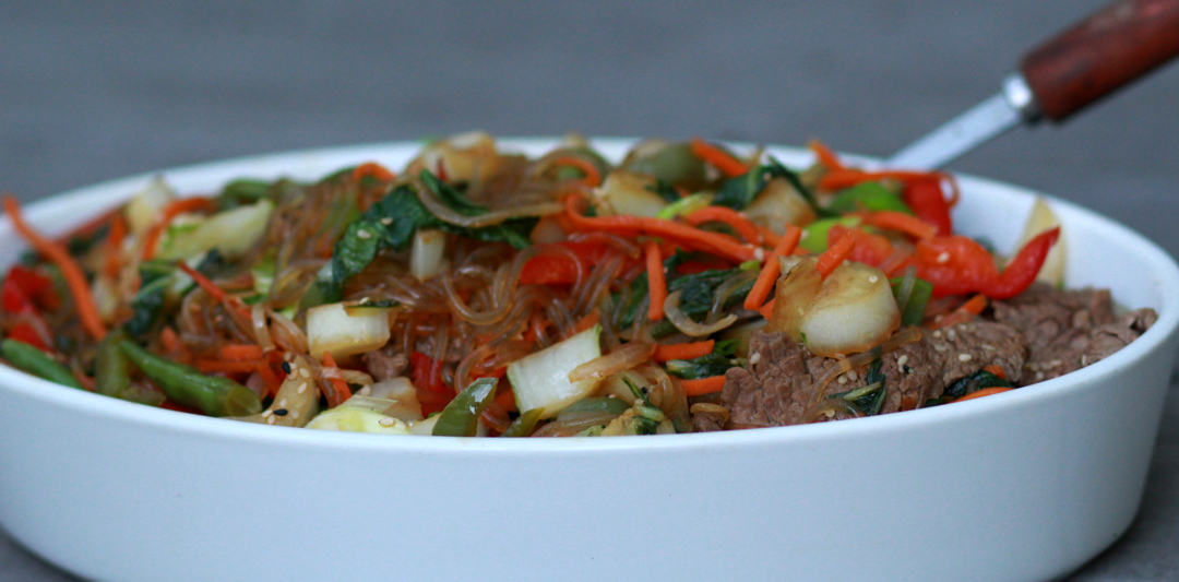 beef and vegetable stir fry