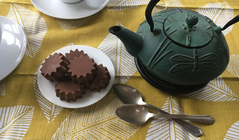 chocolate treats on a plate