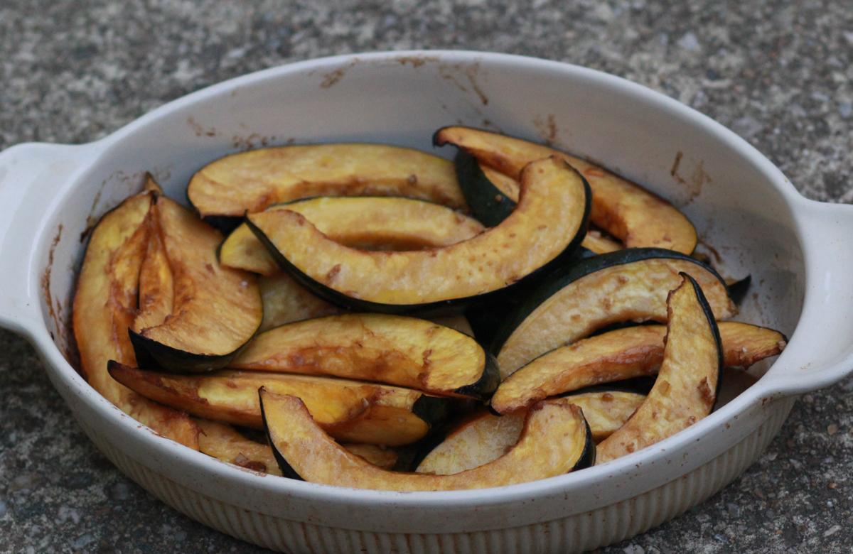 Acorn squash baked