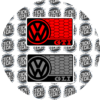 VW Airbag Label Warning Cover GTI GLI