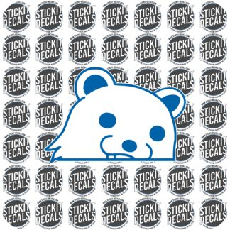 pedobear sticker decal