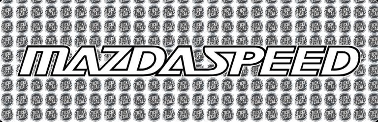 MazdaSpeed Banner Logo ms3 ms6 mazda speed