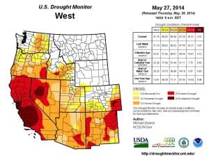Drought Monitor May 27, 2014