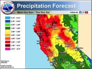 NWS forecast maps for Thurs, Feb 4 through Saturday