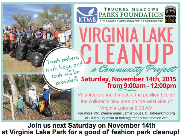 KTMB Virginia Lake Cleanup Nov 2015