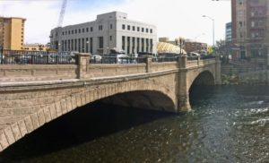 Old Virginia Street Bridge in 2014 in downtown Reno