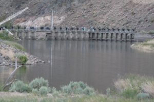 Derby Dam on the Truckee River diverts water to Lahontan Valley