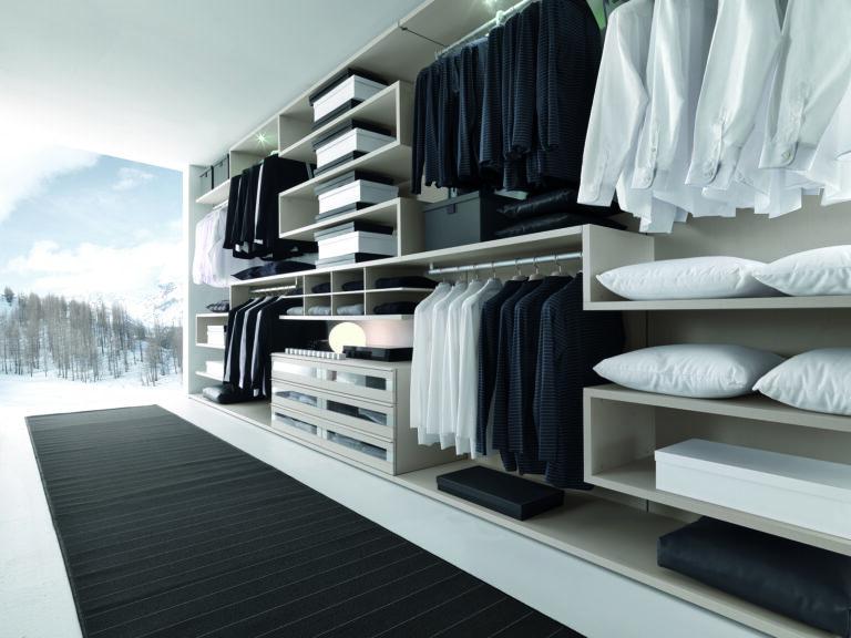 Presotto Varius Closet in Linen
