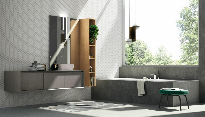 Puntotre bathroom vanity combination