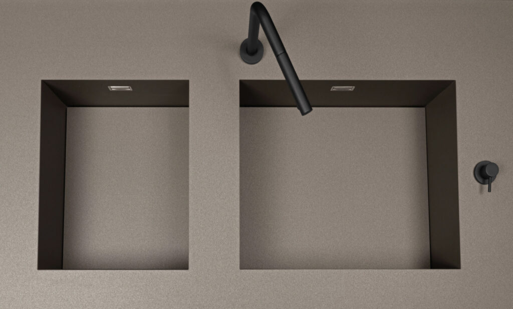 SEI Fenix DOHA top and integrated sink
