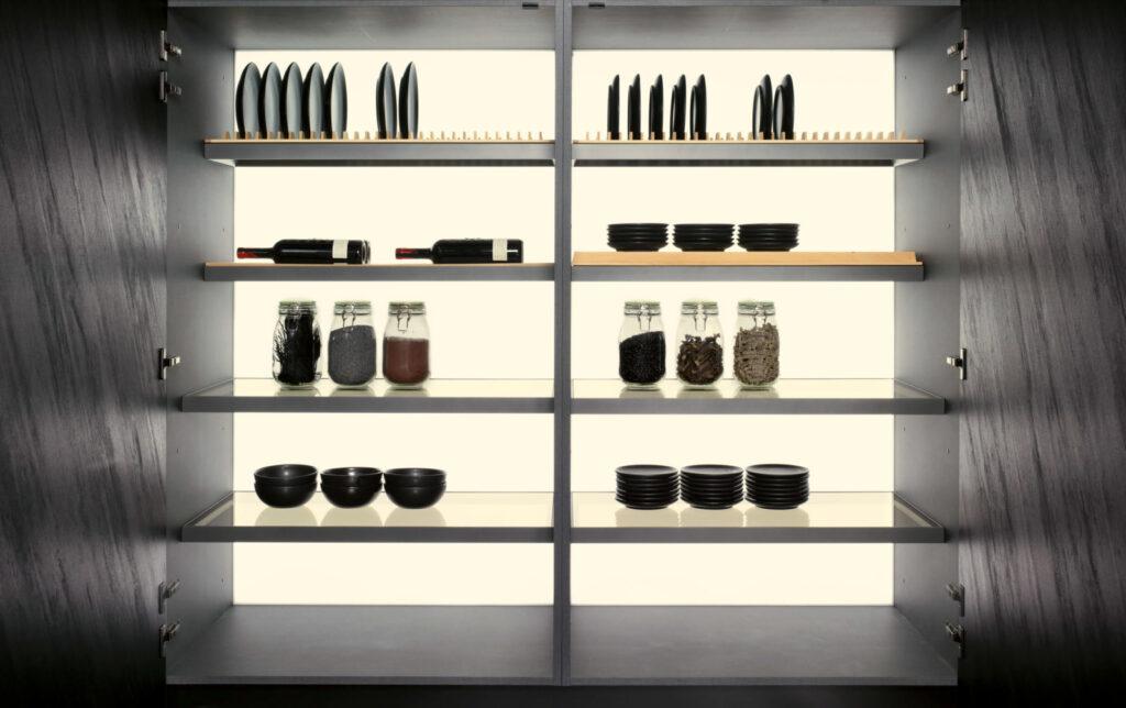 SEI Medium high cabinet backlit