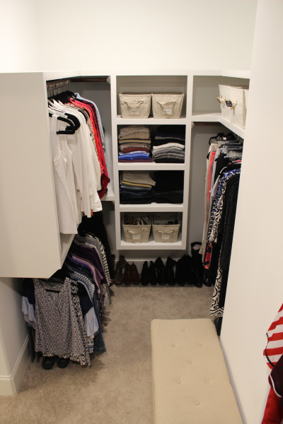 White Closet After