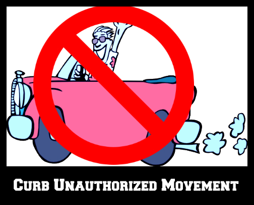curb unauthorized movement