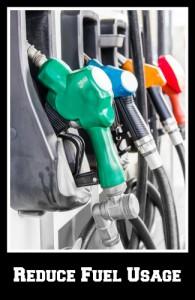 reduce fuel usage