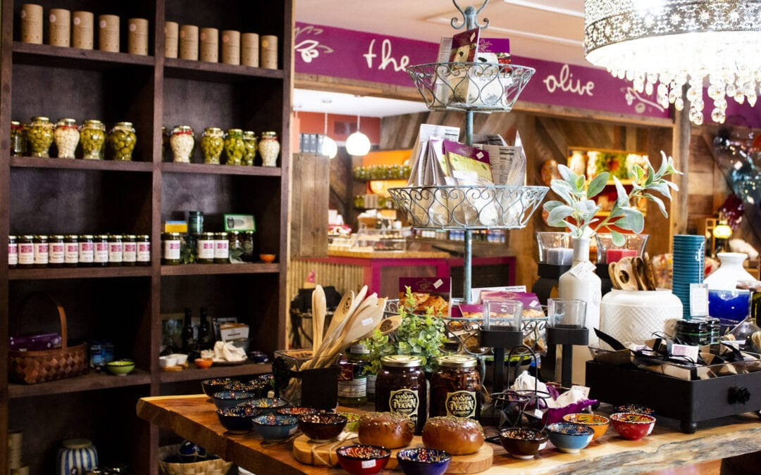 Planning for Holiday Party Food with The Gruene Olive Tasting Room