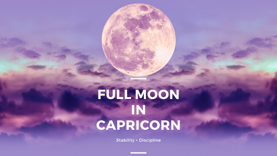 Full Moon in Capricorn: Ancestral advice based on your sign.