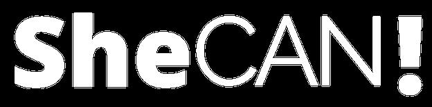 SheCAN Logo White no background