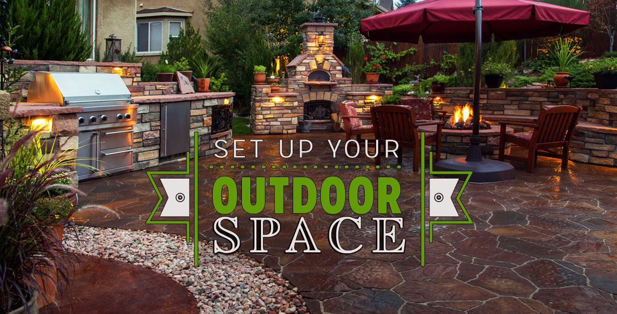 Decide where you want to host your outdoor events.