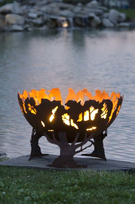"""Forest Fire 37"""" Fire Pit Bowl"""