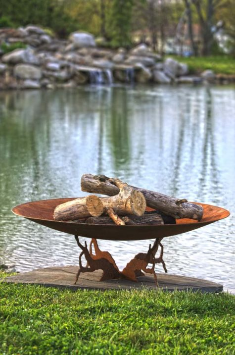 Earth and Sky Fire Pit Bowl