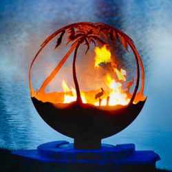 Another Day in Paradise Artisan Fire Pit