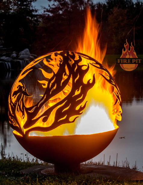 Phoenix Riing Fire Pit Sphere 05 - The Fire Pit Gallery