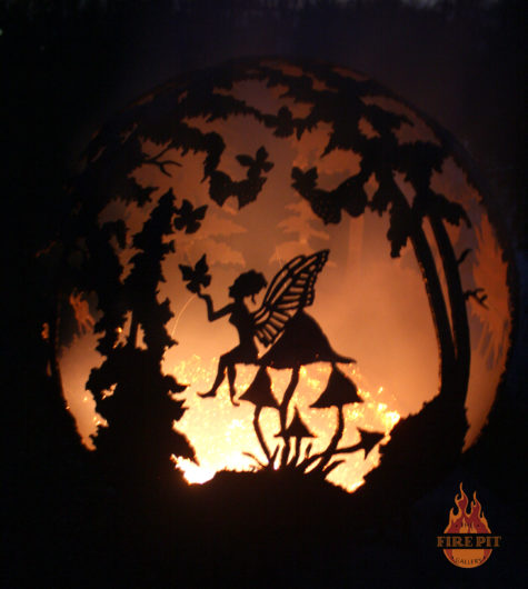 Enchanted Woods Fairy Fire Pit Sphere 02 - The Fire Pit Gallery