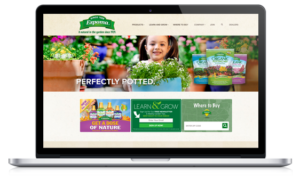 Website redesign in DE for Espoma